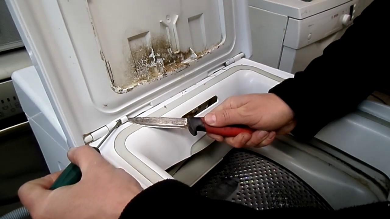 Wspaniały Pralka Polar PTL Whirlpool AWE jak zdemontować drzwi , demontaż VA36