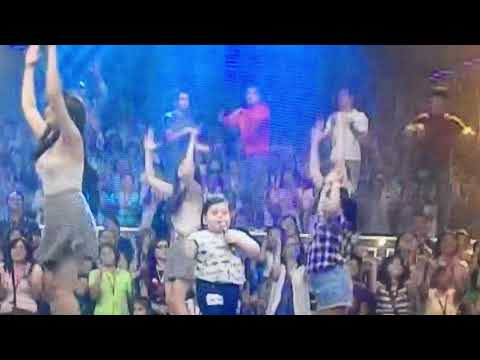 Baste singing That's What I Like with Ryzza Mae
