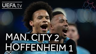 MAN. CITY 2-1 HOFFENHEIM #UCL HIGHLIGHTS