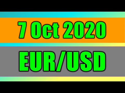EUR/USD Daily Forecast Analysis on 7 October 2020 by Trading Gold Today Review
