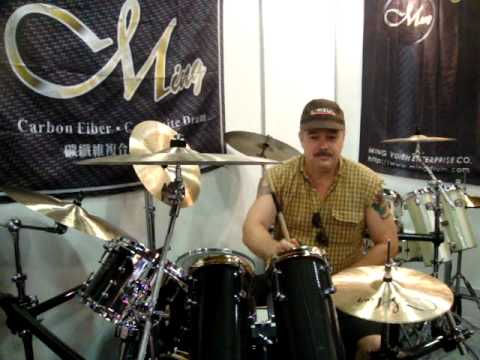 Ming Drum 2010 台北樂器展實況十五.MPG