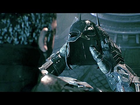 Batman Arkham Knight All Ending 100% Knightfall Protocol + F