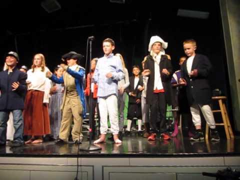 13 Colonies Musical Revolutionary War