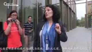 Madame l'Ambassadeur de France en Chine reçoit les enfants en séjour linguistique ASLC à ...