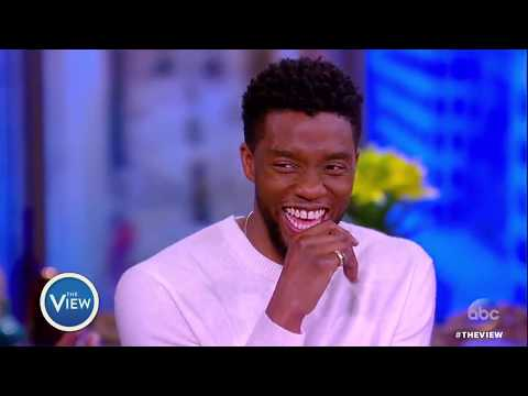 Chadwick Boseman On How 'Black Panther' Is Revolutionizing Superhero Movies   The View
