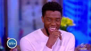 chadwick boseman on how black panther is revolutionizing superhero movies the view