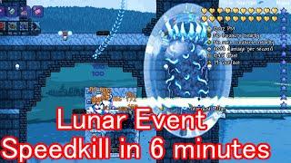 Terraria Lunar Event Speedkill in 6 minutes