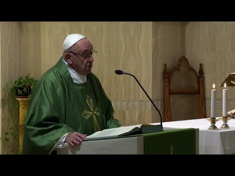 Pope in Santa Marta: Christians need to watch out for well mannered demons