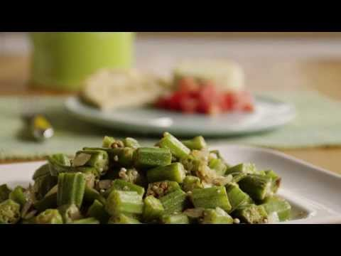 How to Make Indian-Style Okra | Vegetarian Recipes | Allrecipes.com