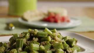 Vegetarian Recipes - How To Make Indian-style Okra