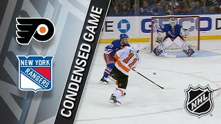 02/18/18 Condensed Game: Flyers @ Rangers