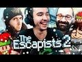 Les Lutins du Père Noël s'évadent ! (The Escapists 2 avec Jiraya, Bboy & Alfouille)
