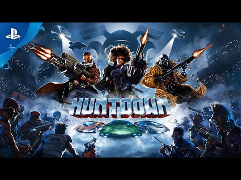 Huntdown - Launch Trailer | PS4