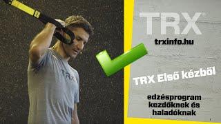 TRX első kézből - edzésprogram kezdőknek és haladóknak
