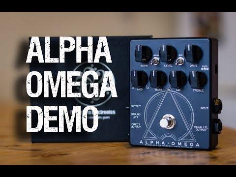 DARKGLASS ELECTRONICS ALPHA · OMEGA [Demo]