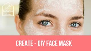 Coffee Tots at home - create - face mask