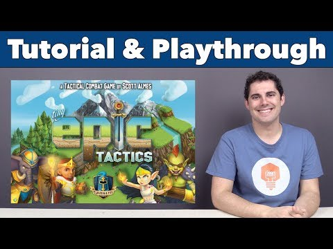Tiny Epic Tactics - Featuring a 3D Environment by Gamelyn Games