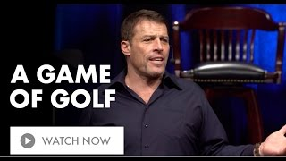 A Game of Golf  | Tony Robbins on the Power of Compounding