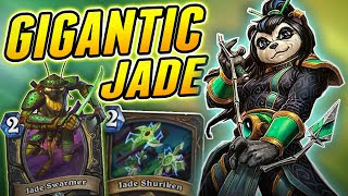 Jade Rogue is quite Satisfying to Play | Wild Jade Rogue | Hearthstone Rise of Shadows