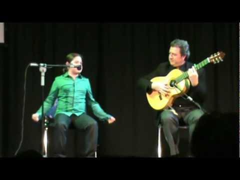 Juanito Oliva por bulerías en el Concurso de Jóvenes Flamencos