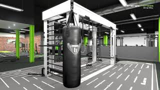 énergie Fitness Wokingham - Flythrough Animation
