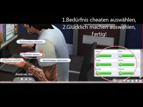 sims 4 cheat bedürfnisse auffüllen