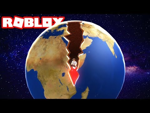 DIGGING TO THE CENTER OF THE EARTH IN ROBLOX