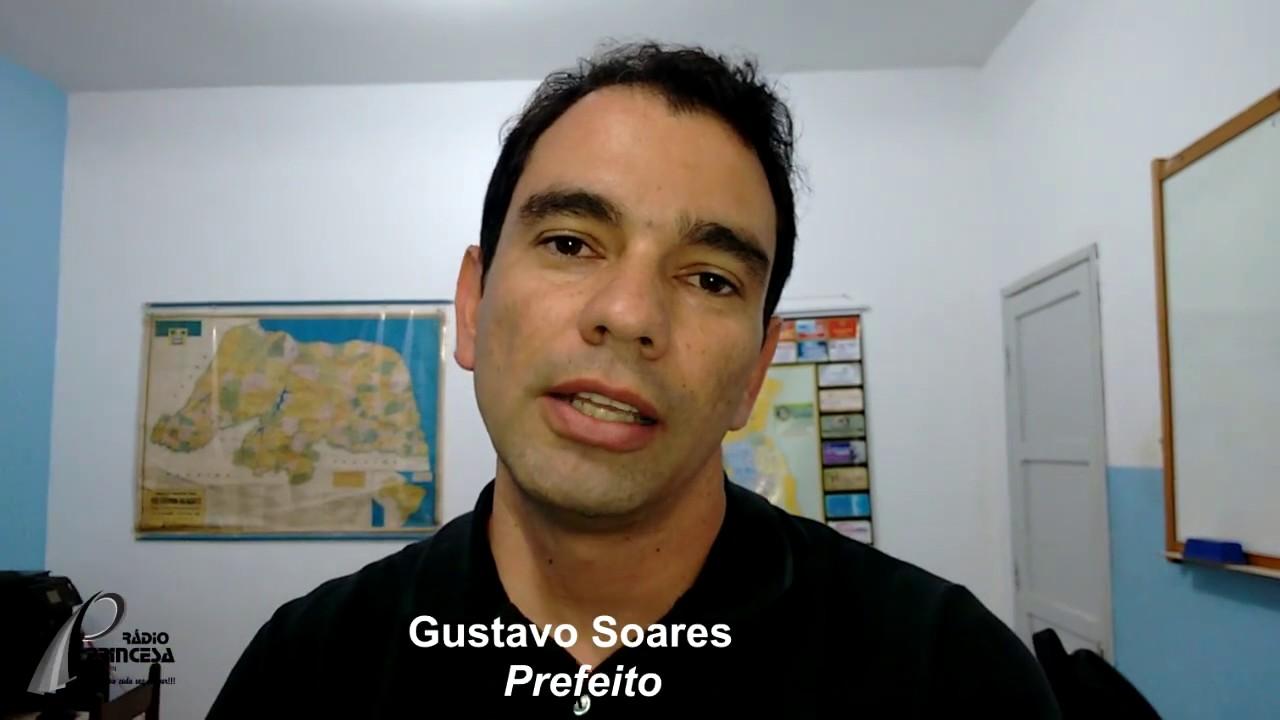 Resultado de imagem para prefeito gustavo soares