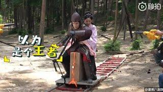 Phim Ngược Luyến Tàn Tâm Thì  Hậu Trường Siêu Lầy - Siêu Hài Hước | OST Bạch Phát Vương Phi