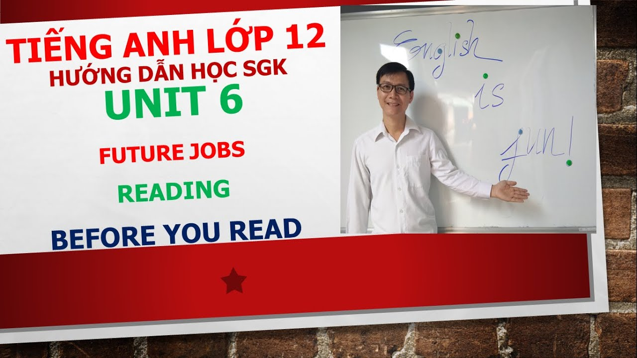 Tiếng Anh lớp 12 – Học SGK – Unit 6: Future jobs – Reading – Before you read
