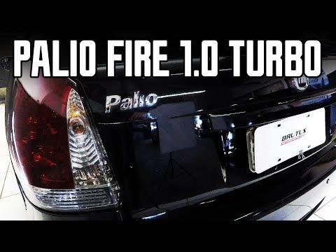 Fiat Palio Fire Economy 1.0 8V Turbo 125HP, alterações no kit E-DRIVE