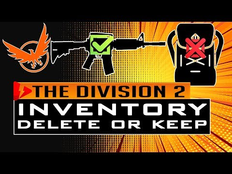 Division 2 INVENTORY MANAGEMENT - Get Ready for the Update 3.0