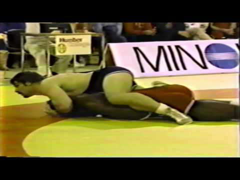 1983 Canada Cup: 100+ kg Final Harold Smith (USA) vs. Bruce Baumgartner (USA)