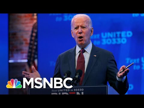 Biden: President Trump Is Trying To Throw Out The Affordable Care Act   MSNBC