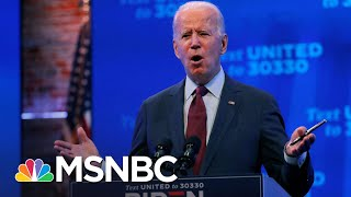 Biden: President Trump Is Trying To Throw Out The Affordable Care Act | MSNBC