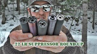 .22 LR Suppressor Round-Up (5 Cans Shot Back-to-Back)