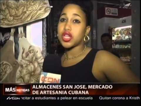 Almacenes San José, mercado de artesanía Cubana