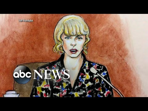 Taylor Swift takes the stand in former radio DJ groping trial