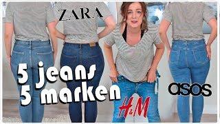 ich teste LIVE 5 Jeans Hosen von 5 Marken in Größe 40 l Size Inbetweenie