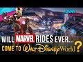 Will MARVEL Rides Ever Come To Walt Disney World??? - Disney News - 1/14/18 mp3 indir