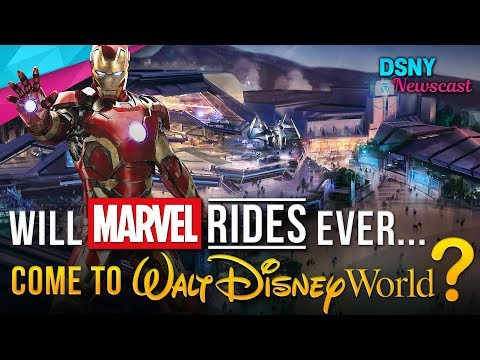 Will MARVEL Rides Ever Come To Walt Disney World??? - Disney News - 1/14/18