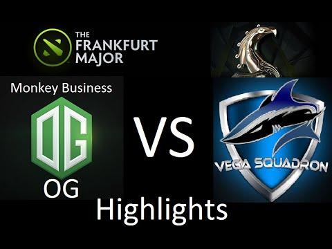 Dota 2 Vega vs OG (Monkey Business) Frankfurt Major 2015 Game 1-2 Highlights.