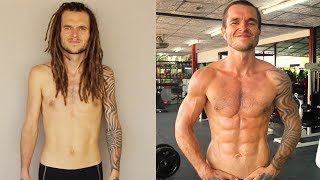 1 Year Calisthenics Body Transformation From Skinny To Ripped