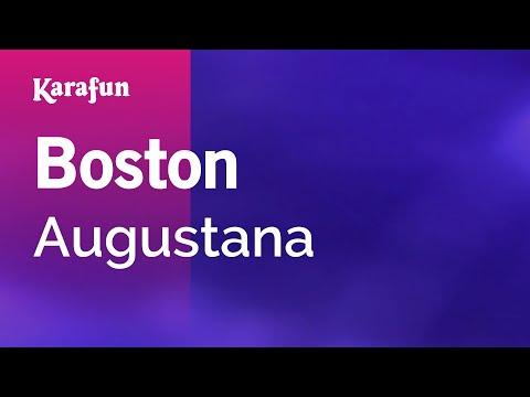 Karaoke Boston - Augustana *