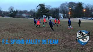 F.C.S.V 09 Team Spring Preseason 2018 (week 1)