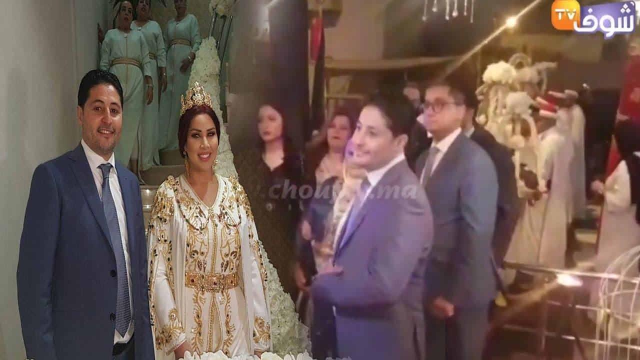أول فيديو من حفل خطوبة سعيدة شرف و أخيرا شوفو راجلها Youtube