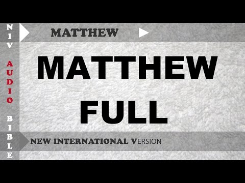 The Holy Bible : MATTHEW FULL With English Subtitle  (New International Version )