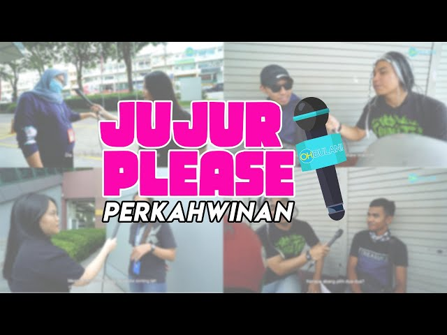 [JUJUR PLEASE] Kahwin Muda Ke Lambat? Nak Duduk Dengan Mertua Ke Tak? Ini Jawapan Orang Malaysia!