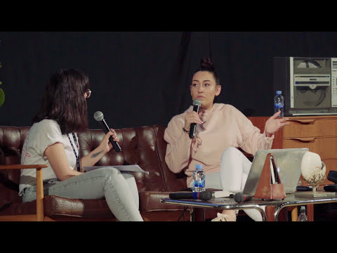 The New Gen Model: Caroline SM (XL Recordings) interviewed at Primavera Pro 2017