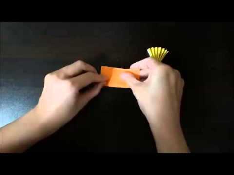 Origami fireworks how to make【花火の折り紙の折り方】